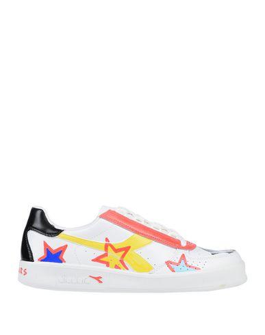 Купить Низкие кеды и кроссовки от DIADORA by THE EDITOR белого цвета