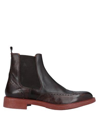 Фото - Полусапоги и высокие ботинки от DOMENICO TAGLIENTE темно-коричневого цвета