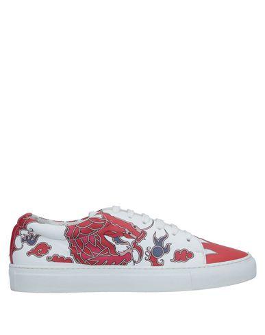 Купить Низкие кеды и кроссовки от P.A.R.O.S.H. белого цвета