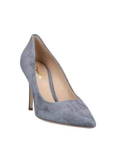 Фото 2 - Женские туфли  серого цвета
