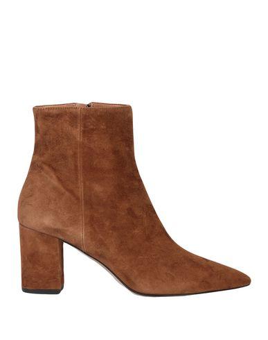 Фото - Полусапоги и высокие ботинки от BIANCA DI желто-коричневого цвета