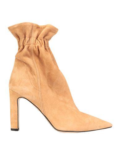 Купить Полусапоги и высокие ботинки от BIANCA DI бежевого цвета
