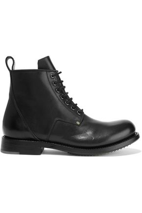 RICK OWENS Cop leather ankle boots
