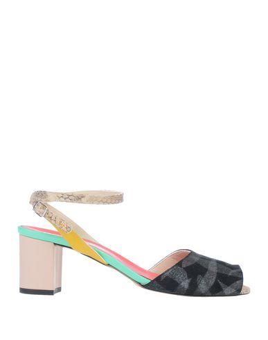 Купить Женские сандали EBARRITO цвет стальной серый