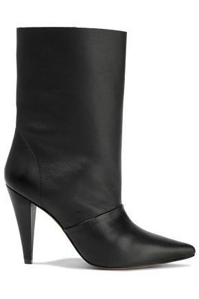 IRO Textured-leather boots