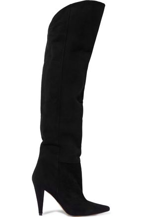 IRO Alma suede over-the-knee boots