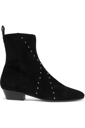 IRO Patti studded suede ankle boots