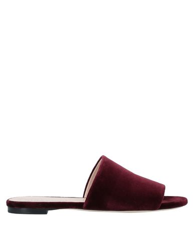 Купить Женские сандали  красно-коричневого цвета