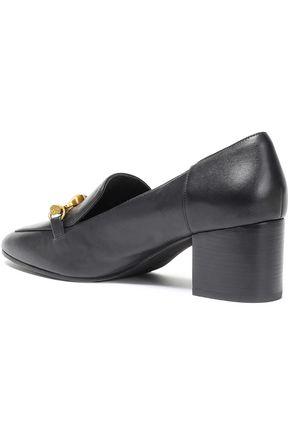 TORY BURCH Jessa appliquéd leather pumps