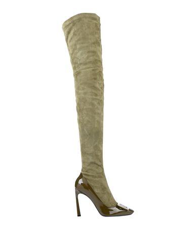 Купить Женские сапоги  цвет зеленый-милитари