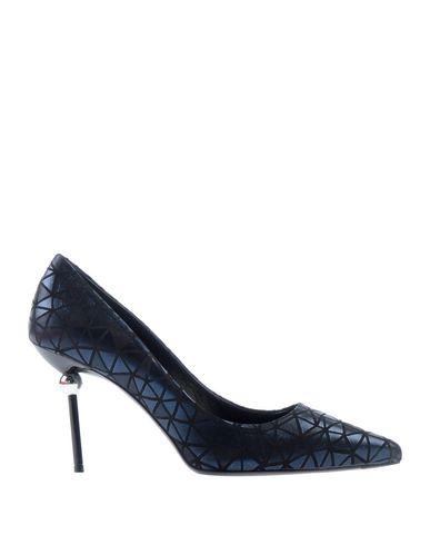 Купить Женские туфли  темно-синего цвета