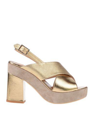 Купить Женские сандали G.P. PER NOY BOLOGNA цвет платиновый