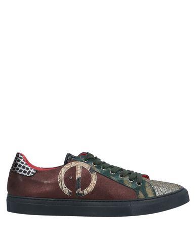 Купить Низкие кеды и кроссовки от EBARRITO серебристого цвета