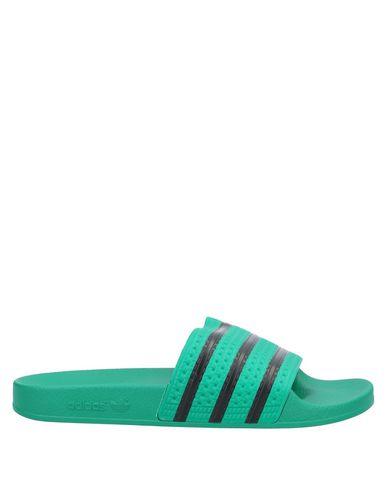 Купить Мужские сандали  зеленого цвета
