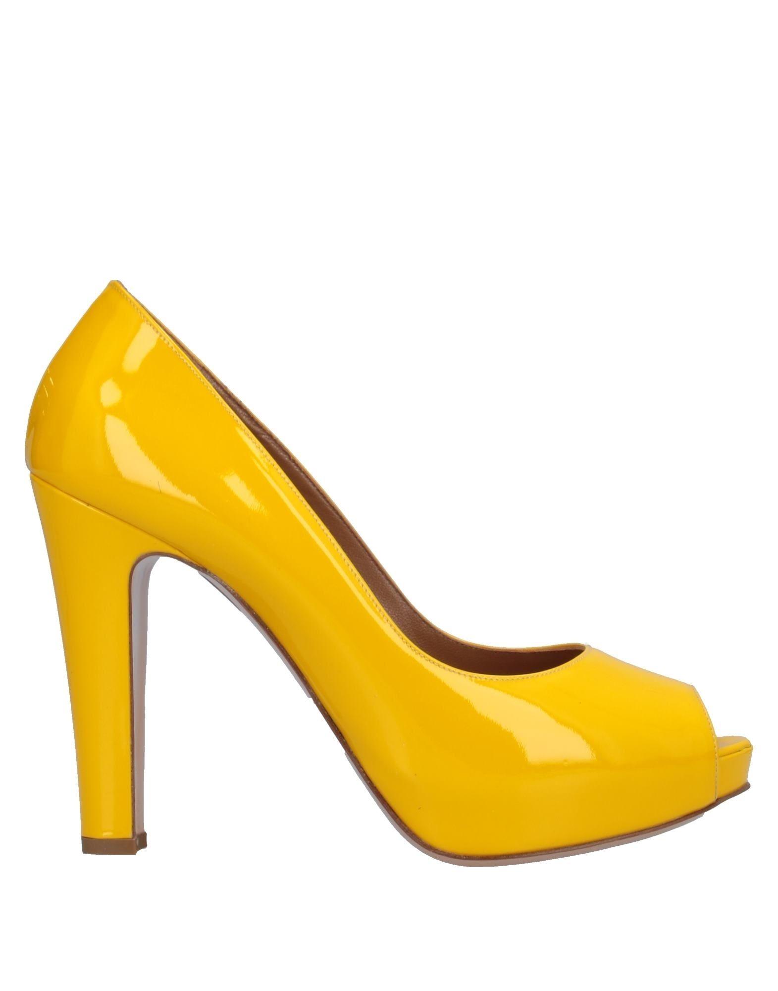 STUDIO POLLINI Туфли туфли studio w klingel цвет желтый