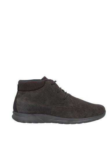 Купить Полусапоги и высокие ботинки свинцово-серого цвета