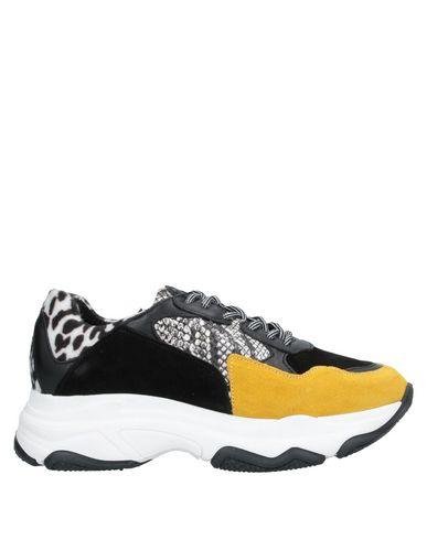 Купить Низкие кеды и кроссовки от UNLACE цвет охра
