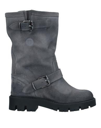 Купить Полусапоги и высокие ботинки от UNLACE серого цвета