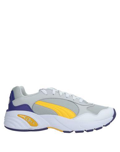 Купить Низкие кеды и кроссовки от PUMA CELL серого цвета