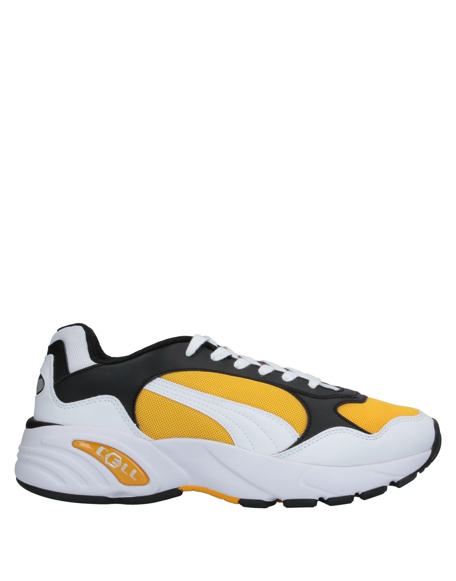 《セール開催中》PUMA CELL メンズ スニーカー&テニスシューズ(ローカット) イエロー 6 紡績繊維