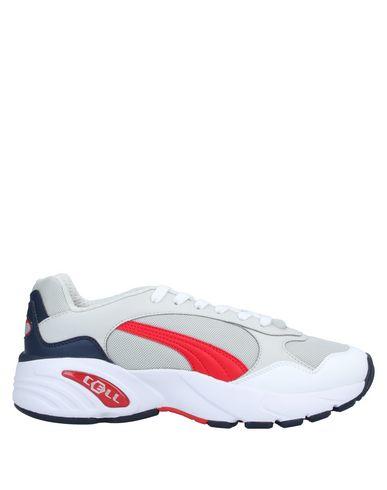 Купить Низкие кеды и кроссовки от PUMA CELL светло-серого цвета