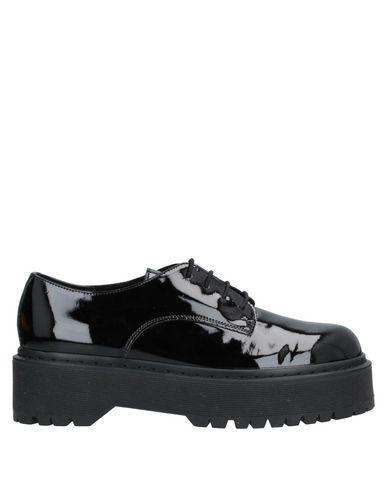 Купить Обувь на шнурках от UNLACE черного цвета