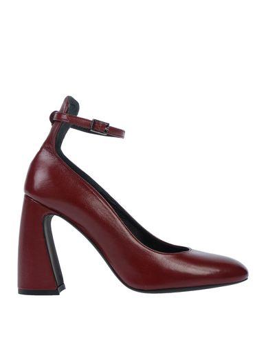 Купить Женские туфли LE PEPITE красно-коричневого цвета