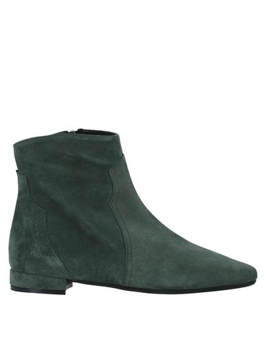 Купить Полусапоги и высокие ботинки от LE PEPITE зеленого цвета
