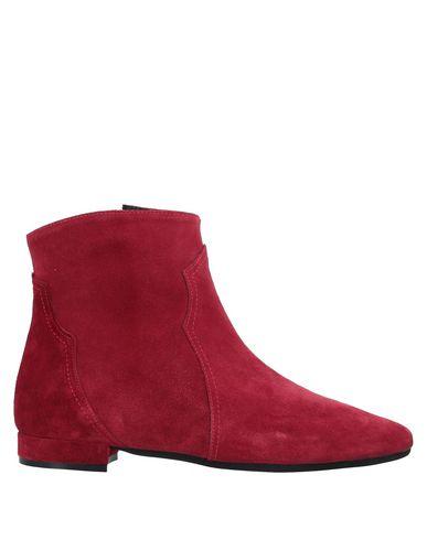 Купить Полусапоги и высокие ботинки от LE PEPITE красного цвета