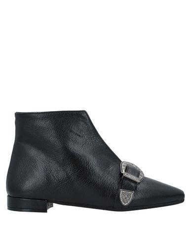 Купить Полусапоги и высокие ботинки от LE PEPITE черного цвета