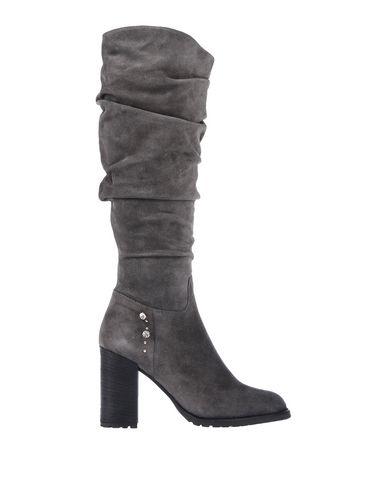 Купить Женские сапоги  свинцово-серого цвета