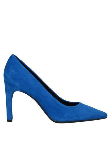 Купить Женские туфли  ярко-синего цвета