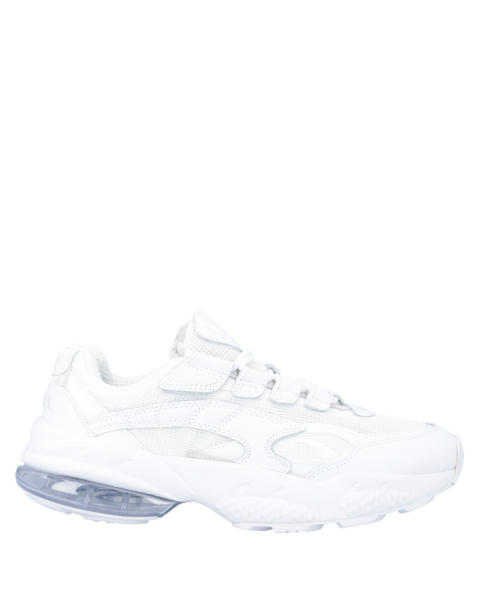 《セール開催中》PUMA CELL メンズ スニーカー&テニスシューズ(ローカット) ホワイト 4 紡績繊維