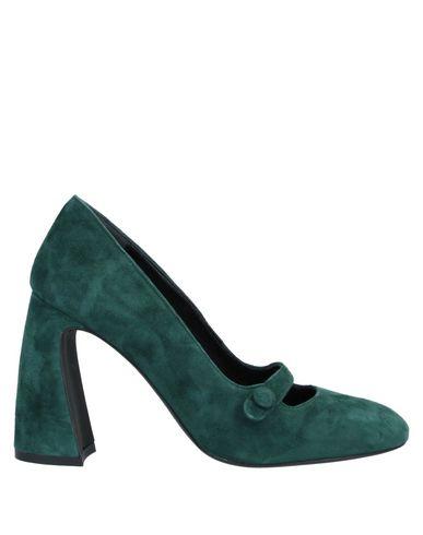 Купить Женские туфли LE PEPITE зеленого цвета