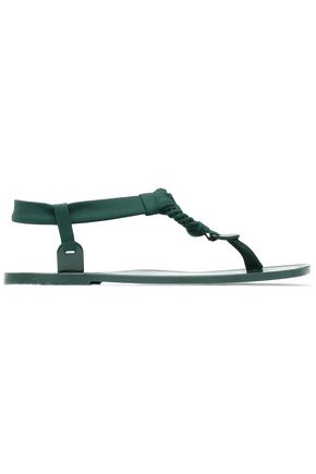 ERES Braid-trimmed stretch-jersey sandals
