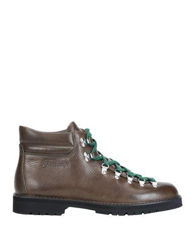 Фото - Полусапоги и высокие ботинки от FRACAP цвет зеленый-милитари