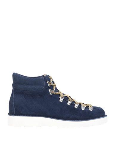 Фото - Полусапоги и высокие ботинки от FRACAP темно-синего цвета