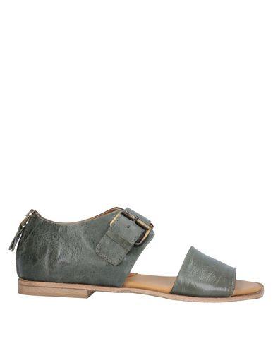 Купить Женские сандали 1725.A цвет зеленый-милитари