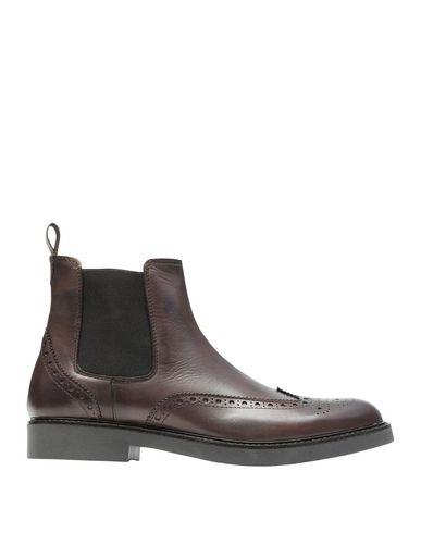 Фото - Полусапоги и высокие ботинки от 8 by YOOX темно-коричневого цвета