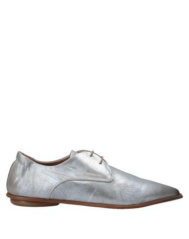 Купить Обувь на шнурках от 1725.A серебристого цвета
