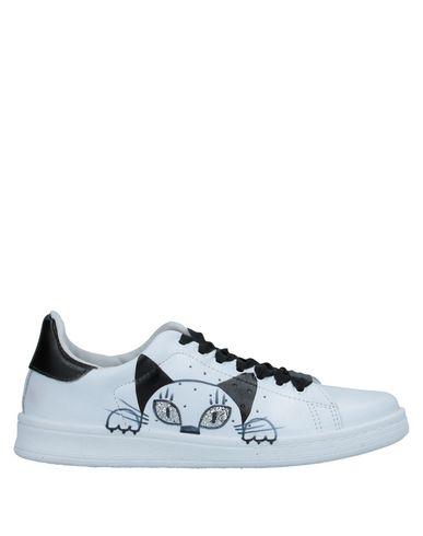 Купить Низкие кеды и кроссовки от NIRA RUBENS белого цвета