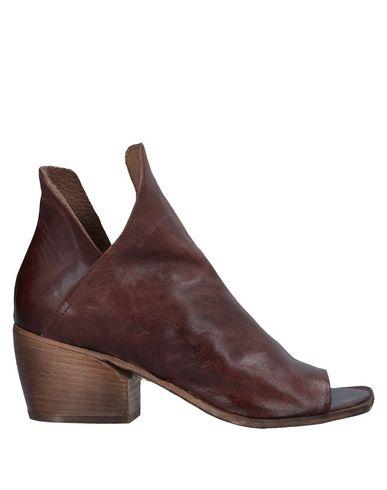 Купить Полусапоги и высокие ботинки от 1725.A коричневого цвета