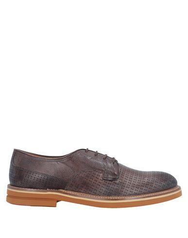 Купить Обувь на шнурках от CORVARI темно-коричневого цвета