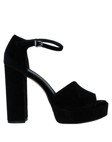 Купить Женские сандали LE PEPITE черного цвета