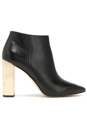MICHAEL MICHAEL KORS Paloma leather ankle boots
