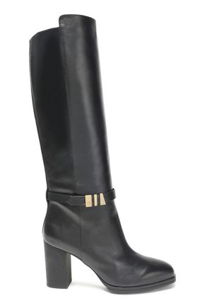 TOD'S Leather knee boots