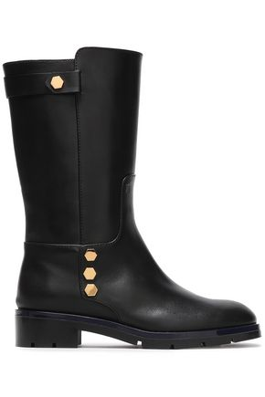 TOD'S Studded leather boots