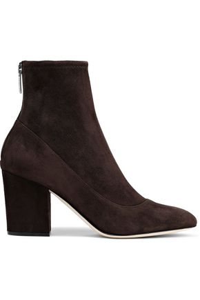 stretch-suede-sock-boots by sergio-rossi