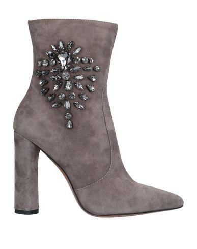 Купить Полусапоги и высокие ботинки цвет голубиный серый