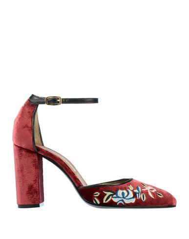 Фото - Женские туфли  красно-коричневого цвета